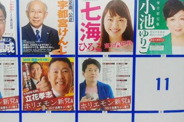 東京都知事選は出来レースだった